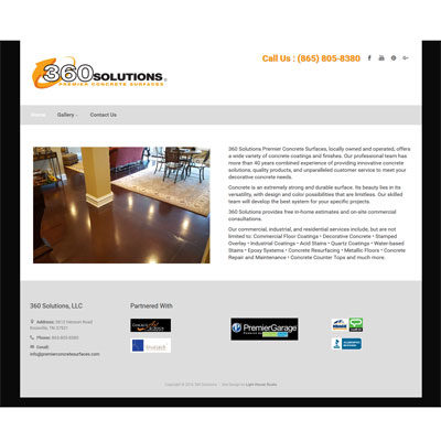 360 Solutions Screenshot