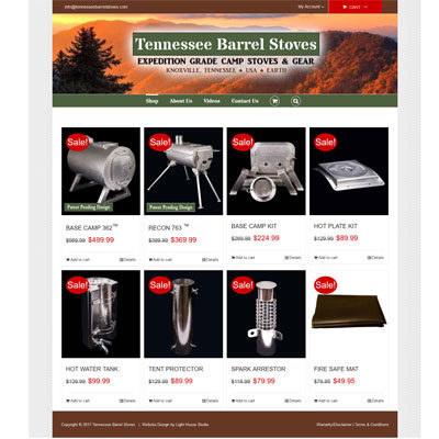 Tennessee Barrel Stoves Screenshot